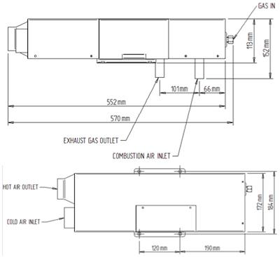 Propex HS2000 Technical Diagram