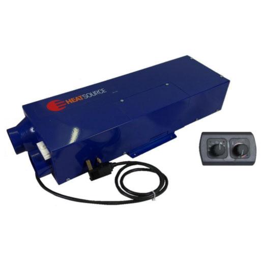 HS2000E Dual fuel air heater