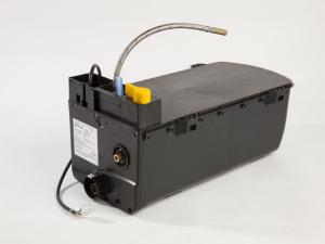 Balanced flue motorhome water heater