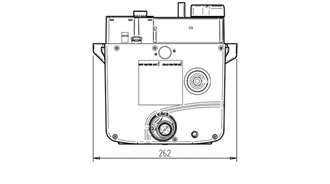 Whale Expanse Water Heater End Dimensions